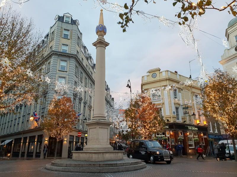 Seven Dials London at Christmas