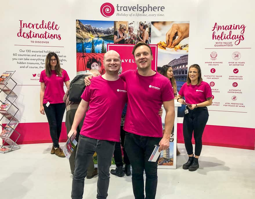 Travelsphere holidays team