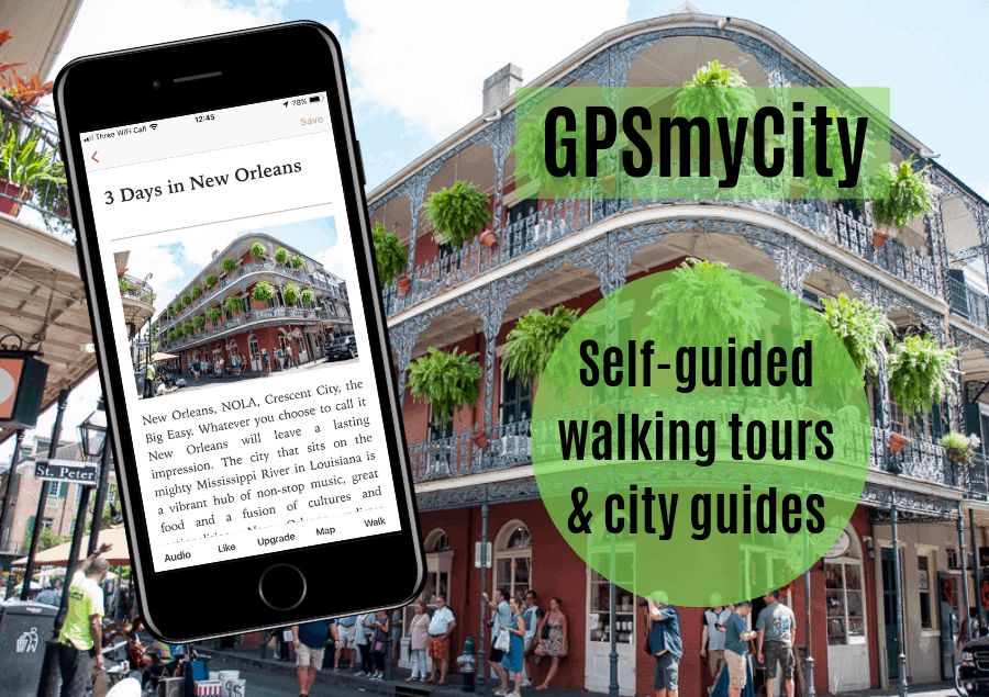 GPSmyCity New Orleans
