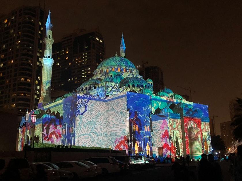 The Light Festival, Sharjah