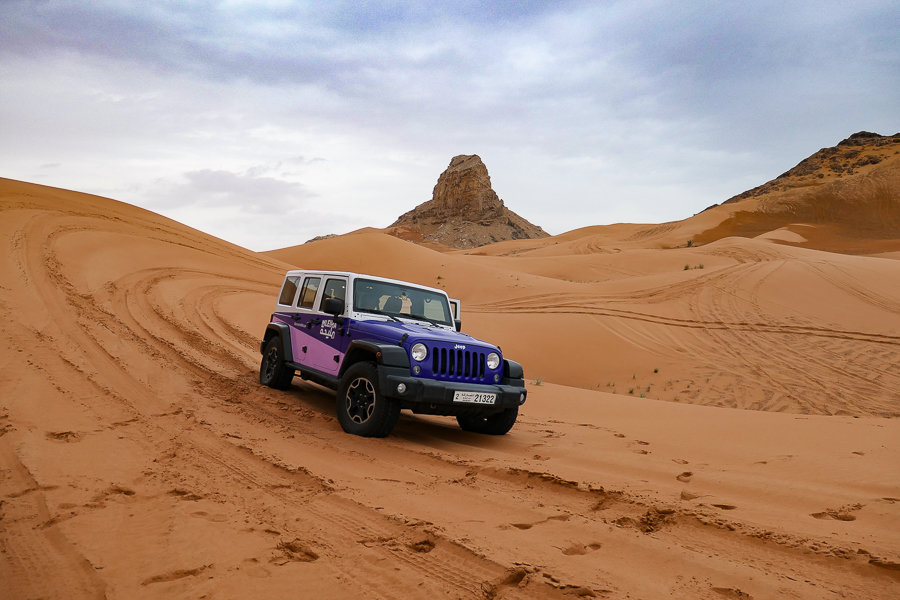 Dune Bashing, Sharjah Desert
