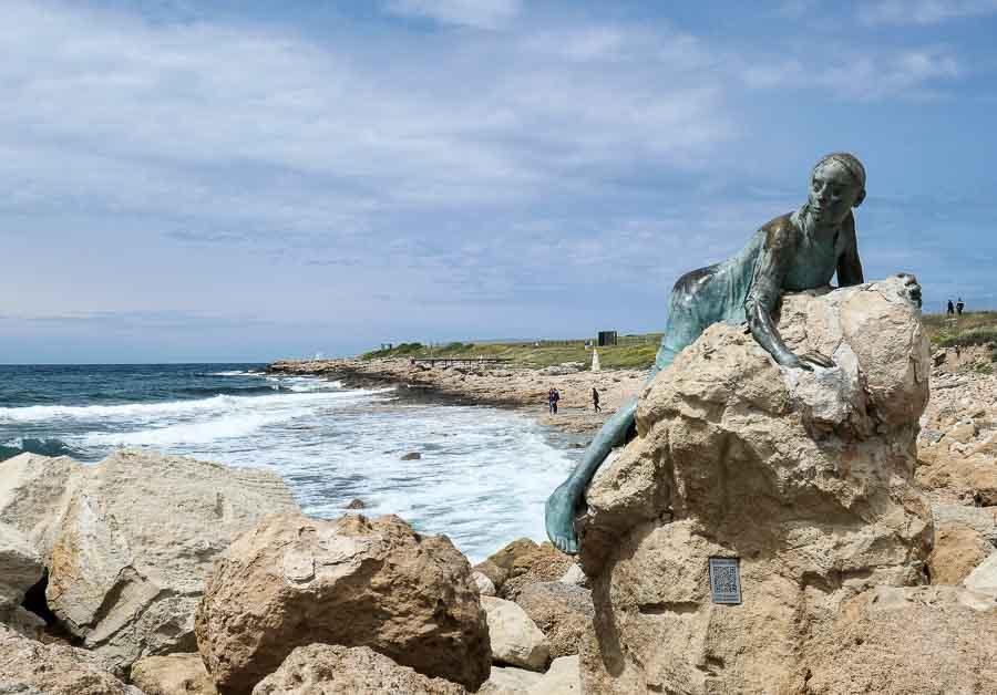 'Sol Alter' Statue Paphos, Cyprus