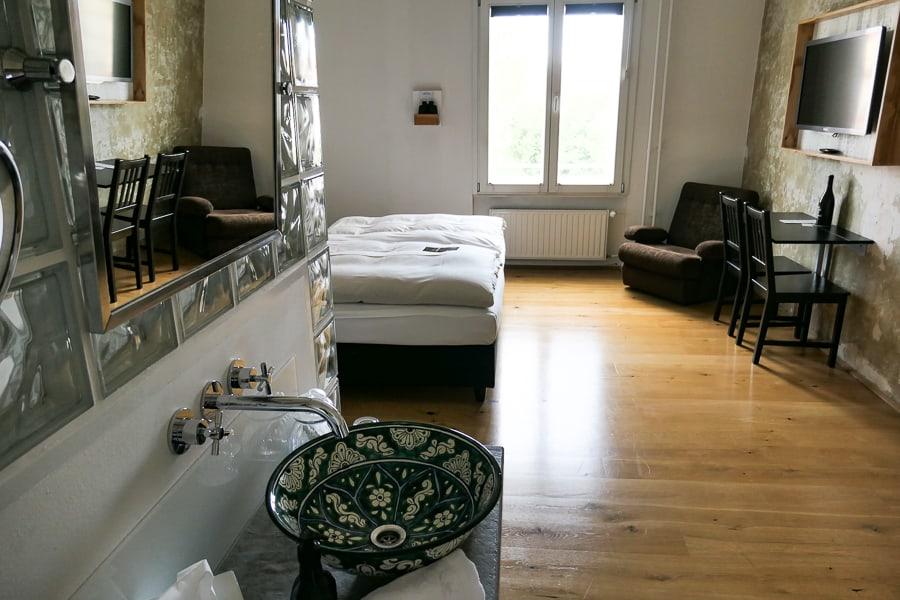 Grand Hotel Wiesler Bedroom, Graz, Austria