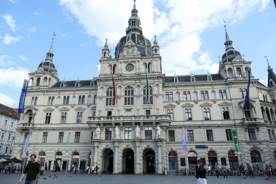 Rathaus, Graz - town hall
