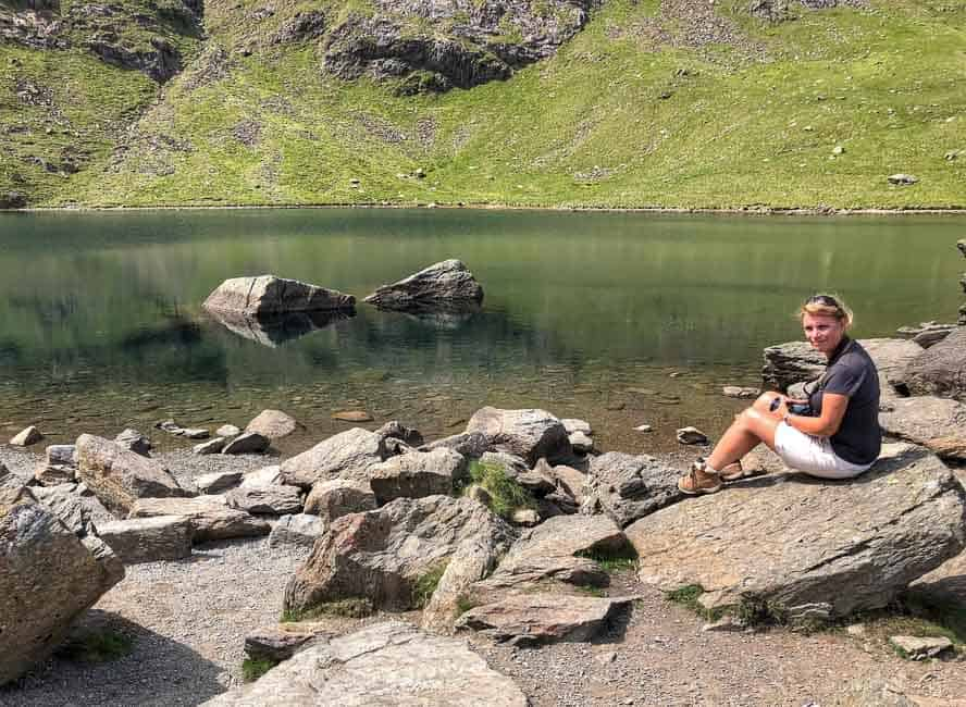At Low Water, Coniston Old Man