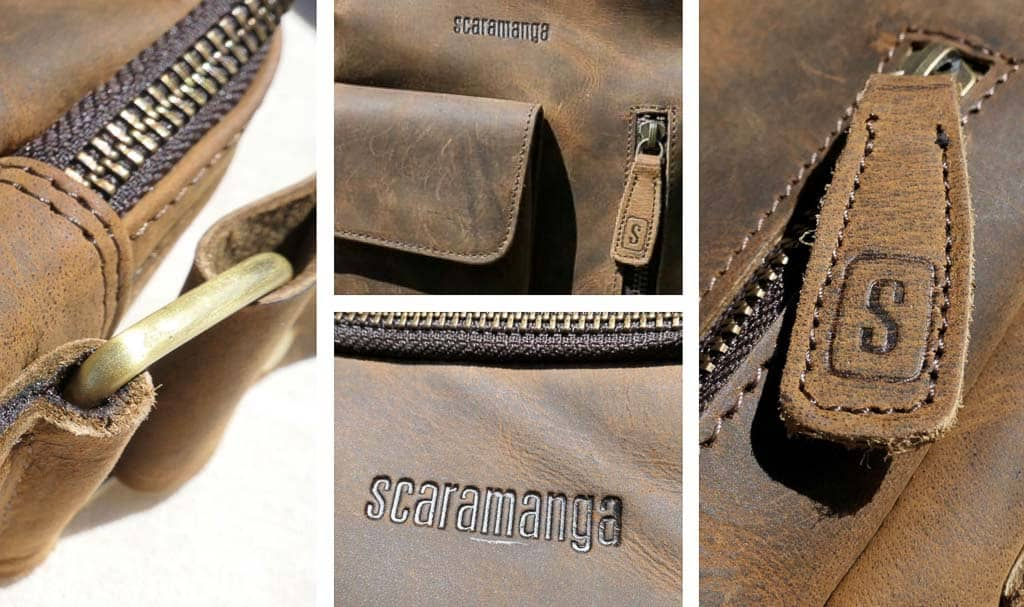 Scaramanga Indy bag details