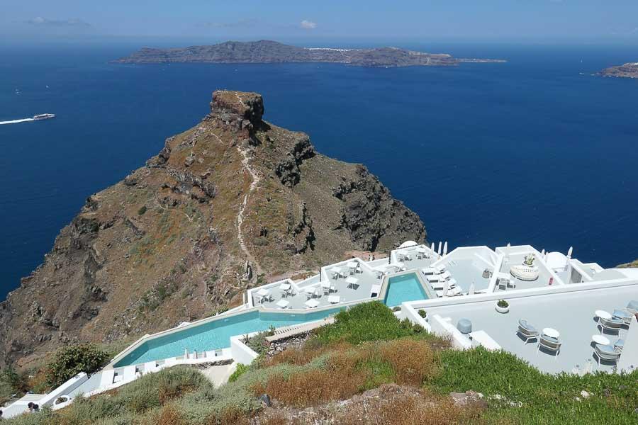 Grace hotel, Imerovigli, Santorini