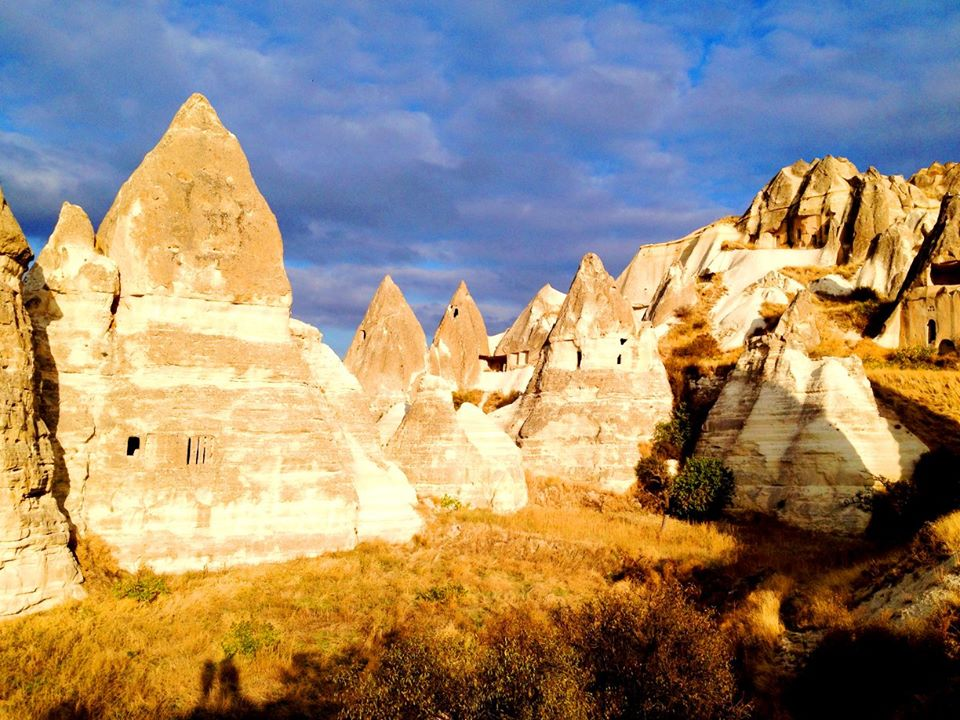 Beautiful valleys in Cappadocia