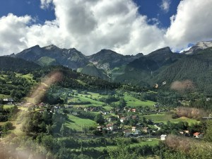Views from the train (from Innsbruck to Zurich) window