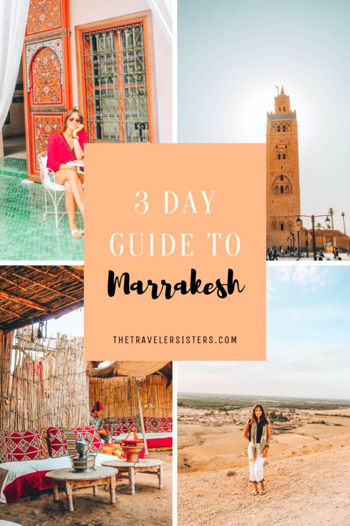 3 days guide in Marrakesh