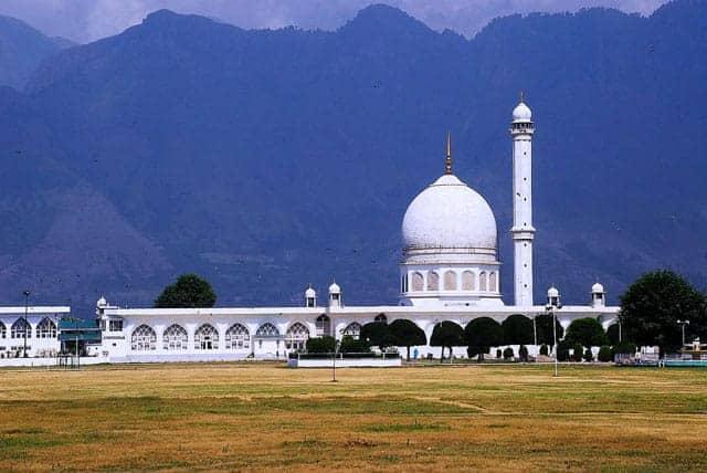 hazratbal-masjid