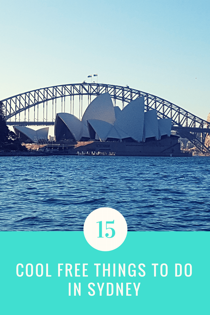 Bucket list things to do in Sydney city, harbour and surrounding areas | Visit the botanical gardens, opera house, harbour bridge, beaches and mountains for free | Budget travel in Sydney, Australia | Must see landmarks and attractions in Summer or Winter #Sydney #australia #budgettravel #backpacking #studyabroad