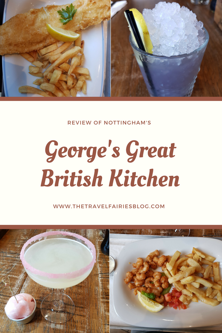 Review of George's Great British Kitchen in Nottingham. #travel #review