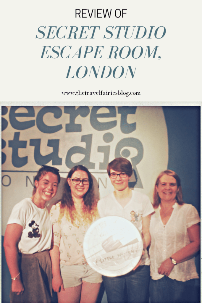 Review of the Secret Studio Escape Room London. Best things to do in London. Escape rooms in London, England, UK #escaperoom #europetravel #thingstodoinlondon