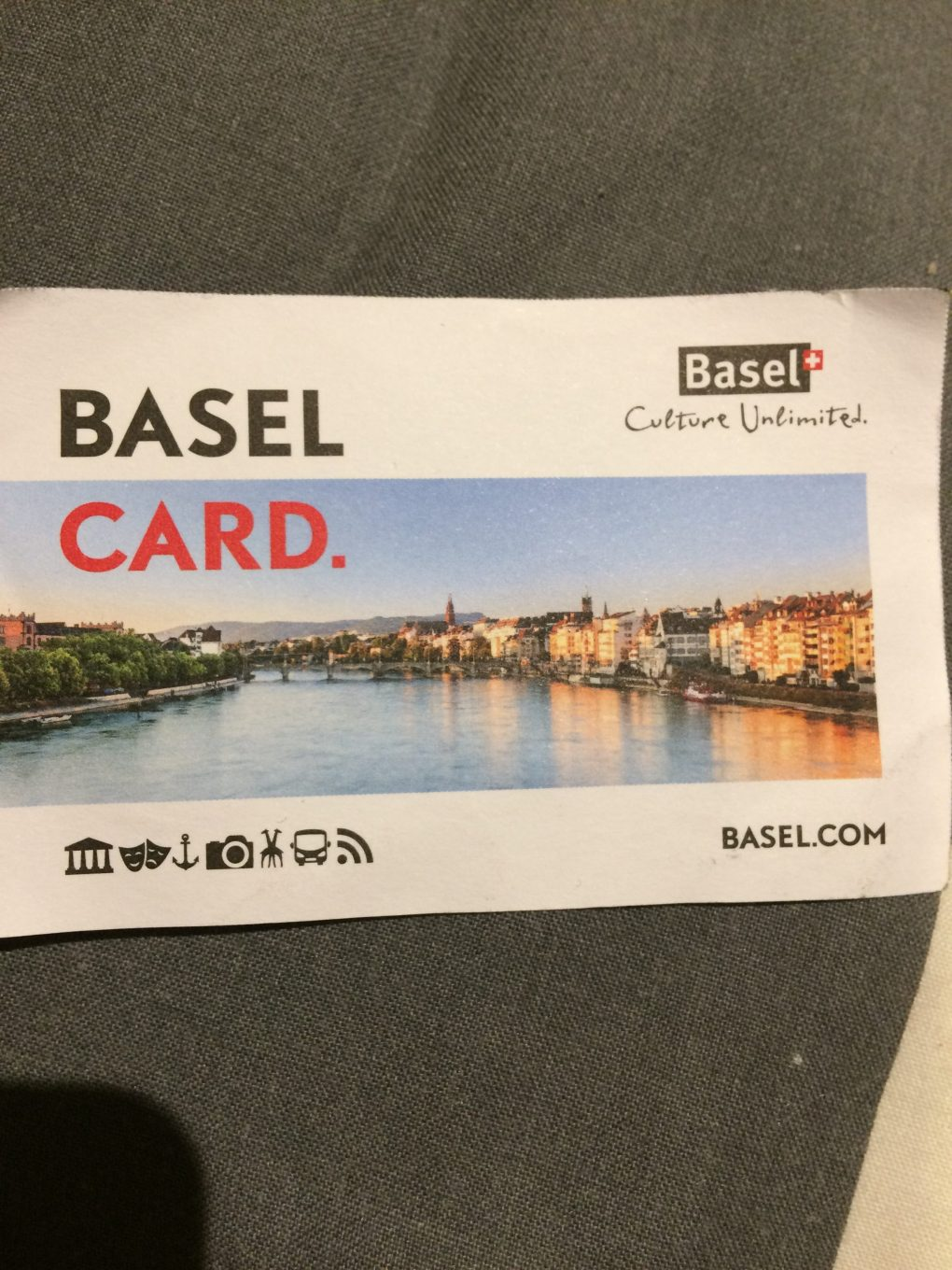 Basel Switzerland on a budget. The Basel City Card