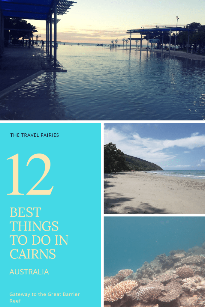 The best things to do in Cairns, Australia. If you're heading to tropical North Queensland, Australia be sure to check out these things to do in Cairns, the gateway to the Great Barrier Reef. Places to visit, things to see and activities to do in Cairns. #cairns #australia #travel #bucketlistdestinations