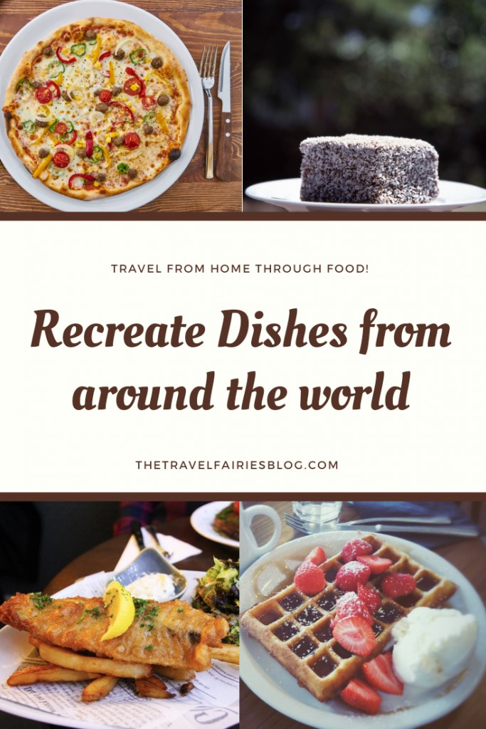 If you're struggling being stuck at home and without being able to travel why not travel in a different way, through food. Several bloggers share the meals and drinks they have which immediately take them back to their previous trips. Dishes from around the world that you can recreate at home so you can imagine you are on that holiday around the world. #cooking #travel #travelfromhome