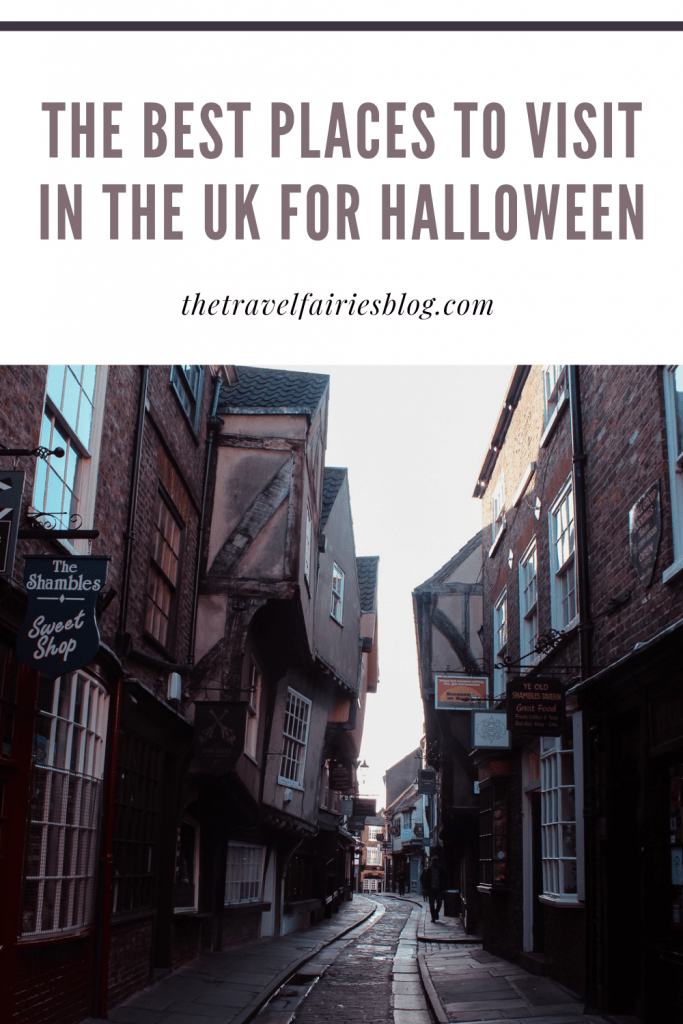 The best places to visit for Halloween this October | Scariest cities, towns and buildings in the UK to visit this Autumn | Best Halloween destination ideas this fall | Things to do and places to go at Halloween | Haunted houses, creepy cities and Halloween travel in the UK | The best places to visit in England, Scotland, Wales and Northern Ireland for Halloween | Family friendly fun and adult only attractions #HalloweenTowns #Halloween #FallDestinations #FallTravel #DarkTourism