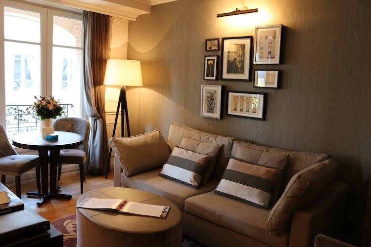 Living room Citadines Suite Louve Paris