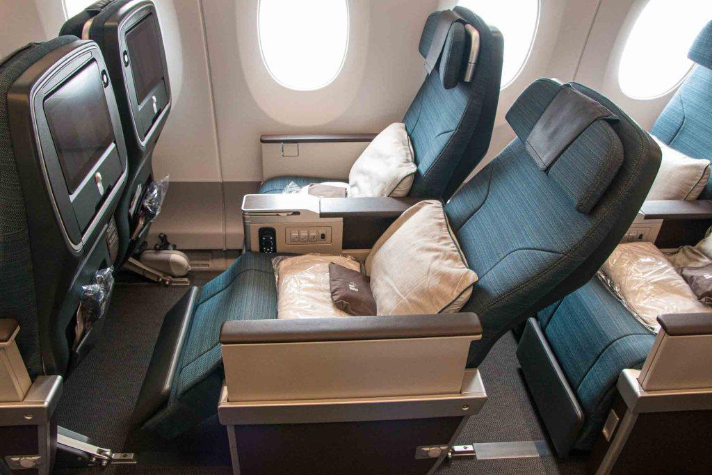 Cathay Pacifc Premium Economy Class Review Travel Happiness