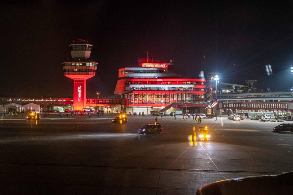 Lufthansa Verabschiedung in TXL 08 November 2020