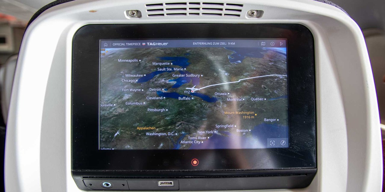Air Canada Boeing 777 Economy Class Inflight Entertainment-4