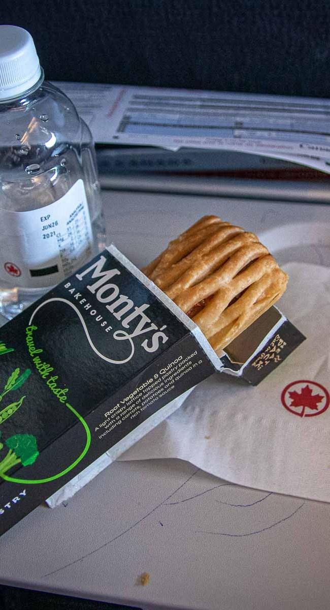 Air Canada Economy Class Essen Mahlzeit-3