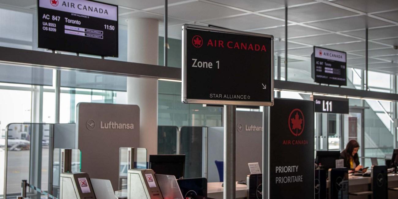 Air Canada Terminal 2 Boarding Flughafen München