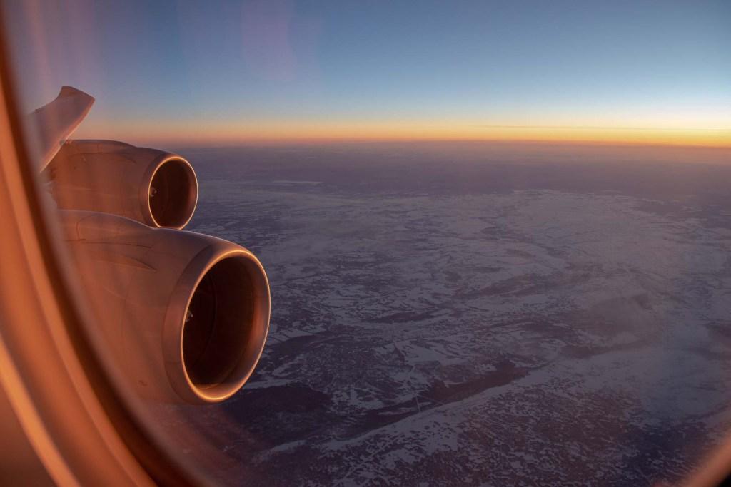 Boeing 747 Wingview