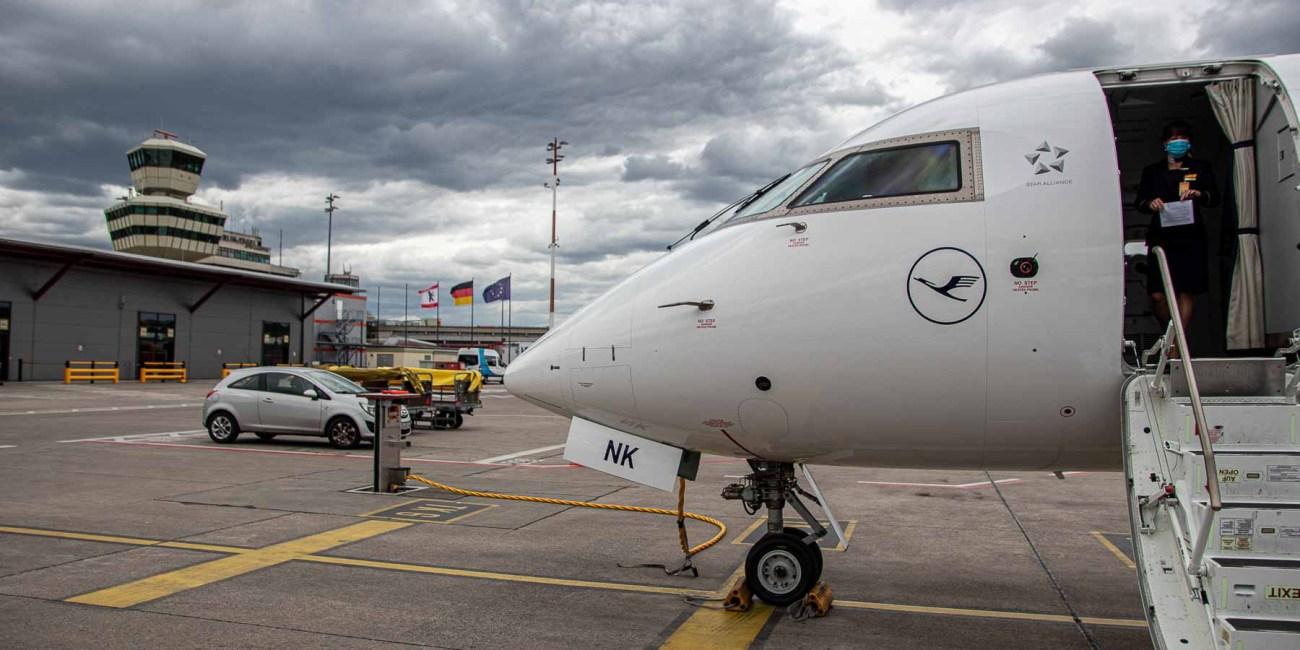 Fliegen während Corona mit Lufthansa Flughafen München-12