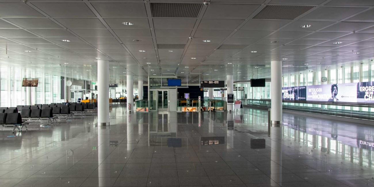 Fliegen während Corona mit Lufthansa Flughafen München-6