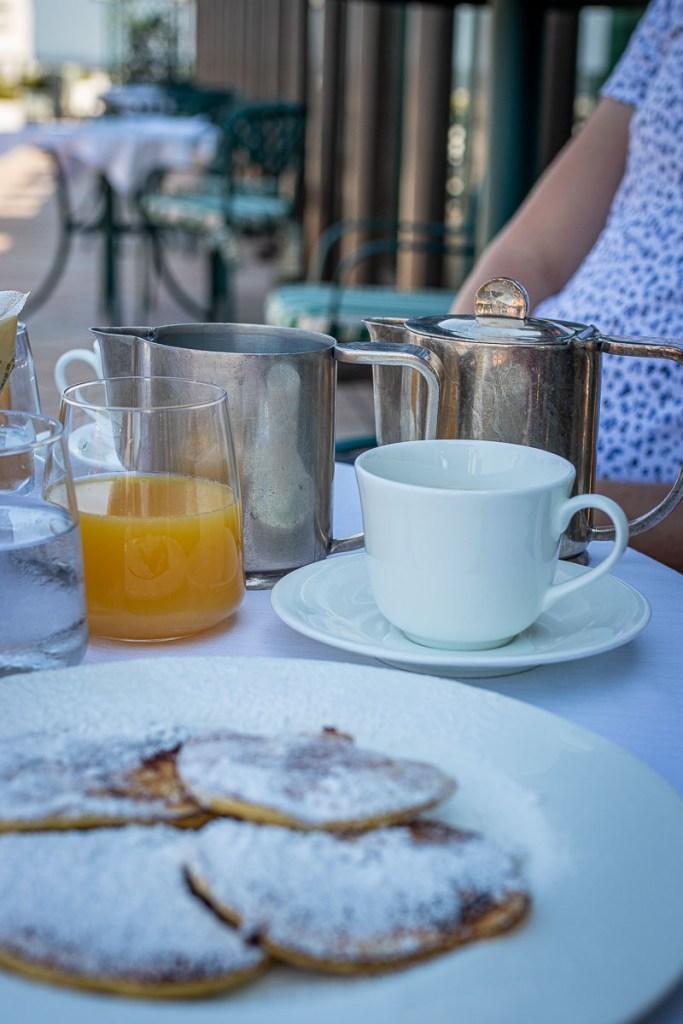 Frühstück Hotel Rom Marriott Platinum