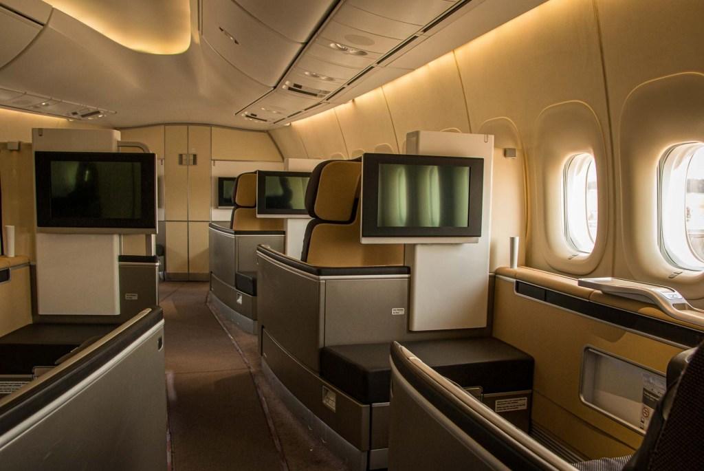 Lufthansa Boeing 747 First Class Strecken Routen