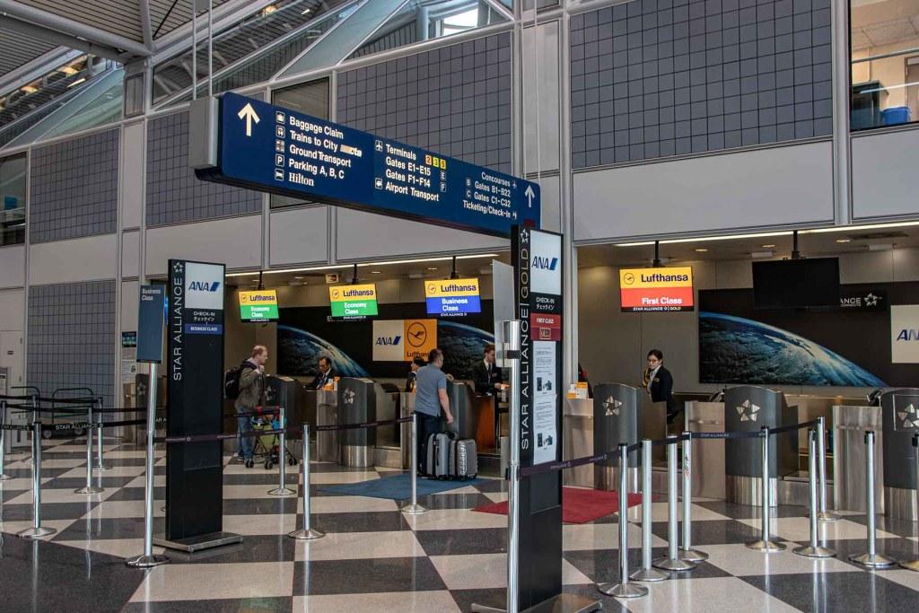 Lufthansa Check-in Chicago O'Hare