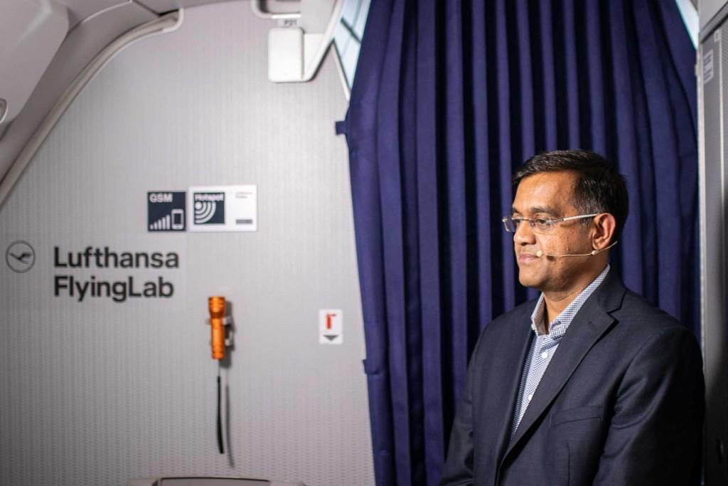 Lufthansa FlyingLab APEX Expo Boston Anish Chand Star Alliance