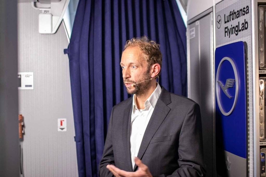 Lufthansa FlyingLab APEX Expo Boston Daniel Schultz Deutsche Telekom