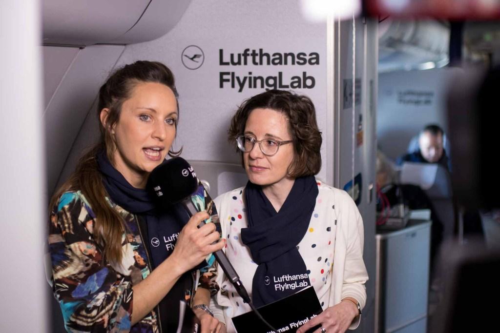 Lufthansa FlyingLab SXSW Moderation von Varinia Bernau und Johanna Leuschen