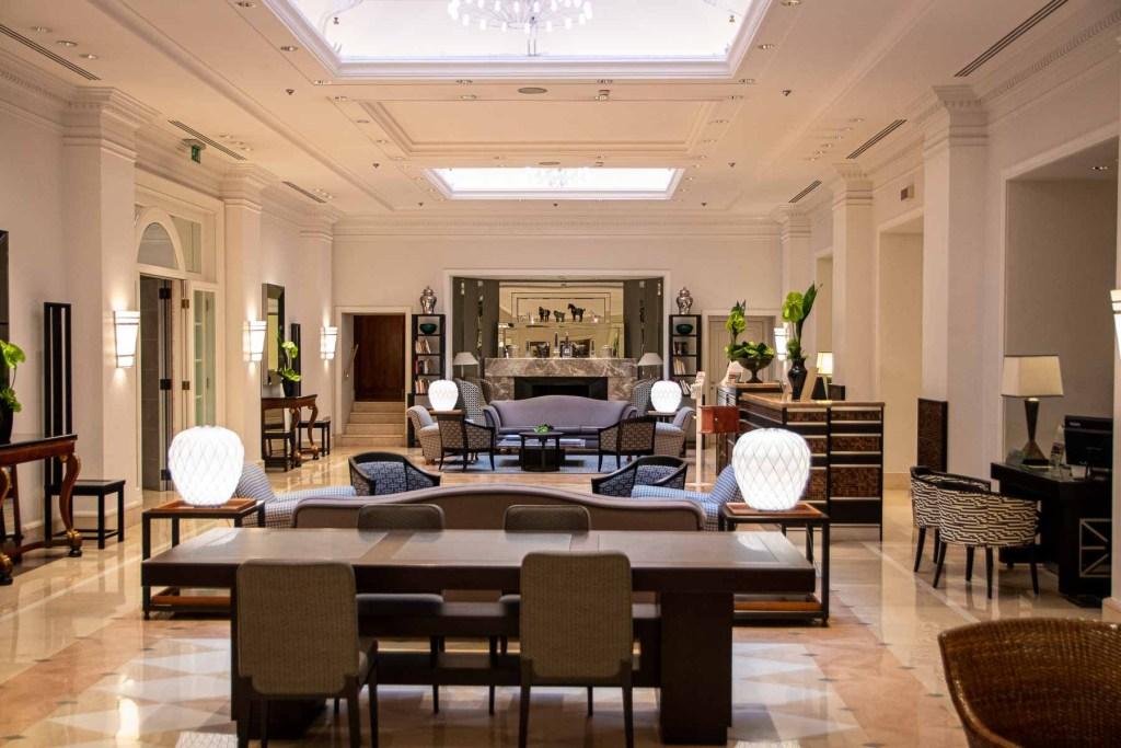 Marriott Grand Hotel Flora Lobby
