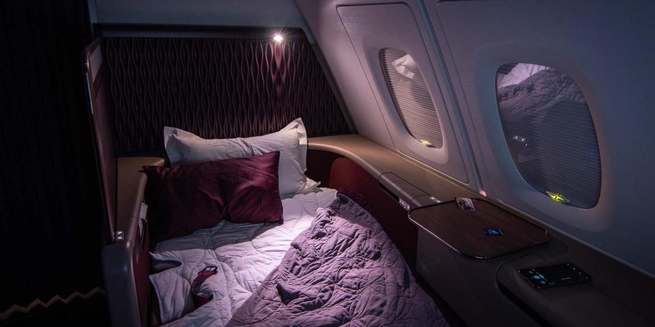 Qatar Airways A380 First Class_