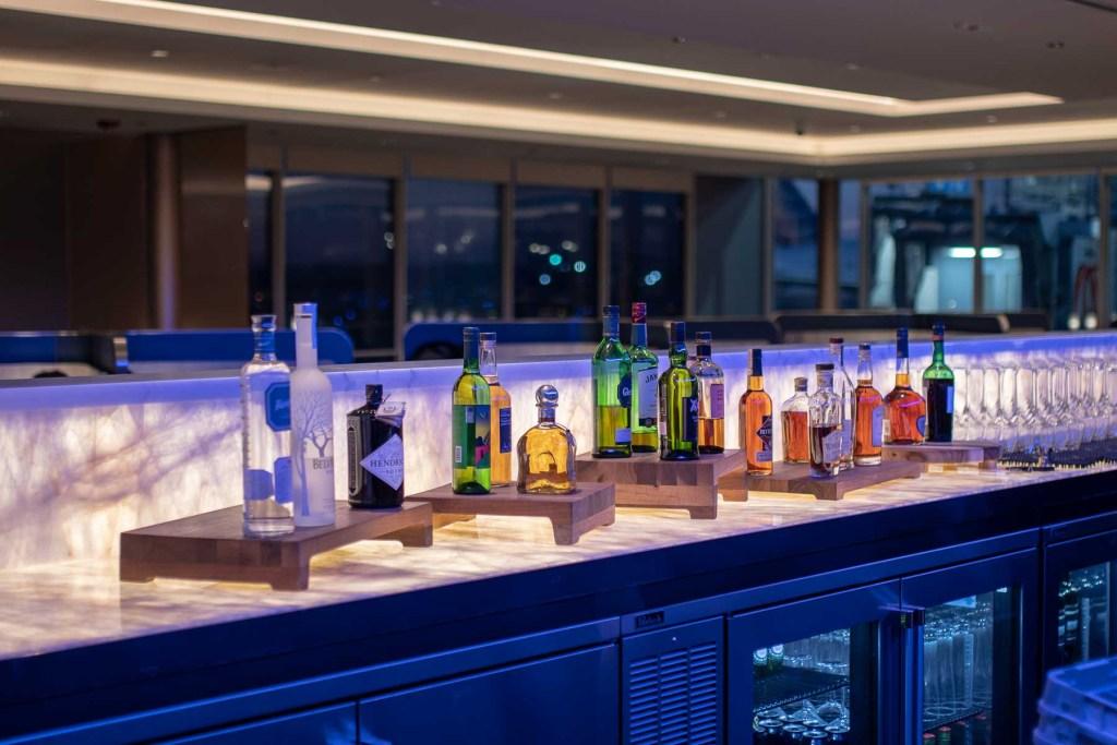 United Polaris Lounge Chicgao Annehmlichkeiten-5