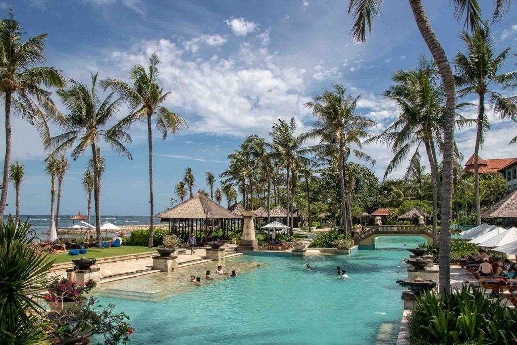 Conrad Bali Resort Annehmlichkeiten Pool