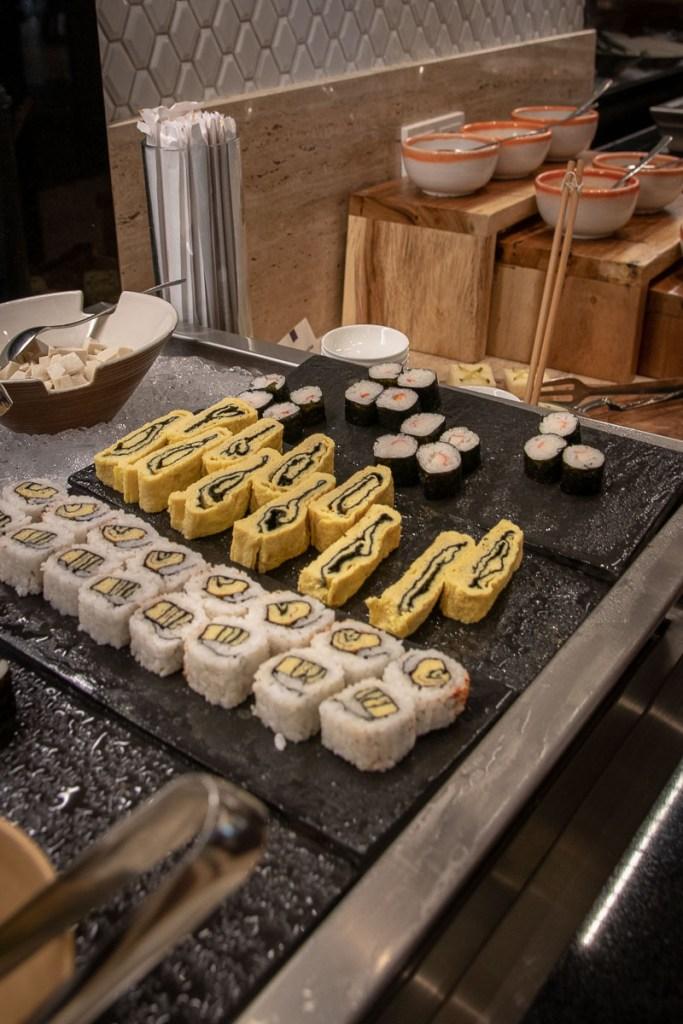 Conrad Bali Resort Frühstück Hilton Gold-3
