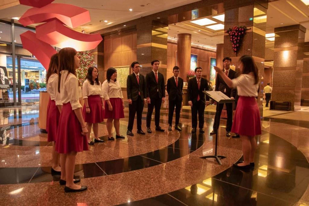 Conrad Singapur Weihnachten im Hotel-2