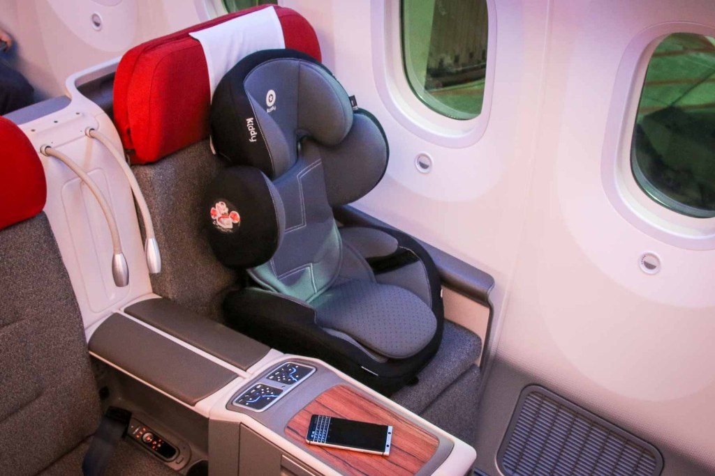 Fliegen mit Kindersitz-2