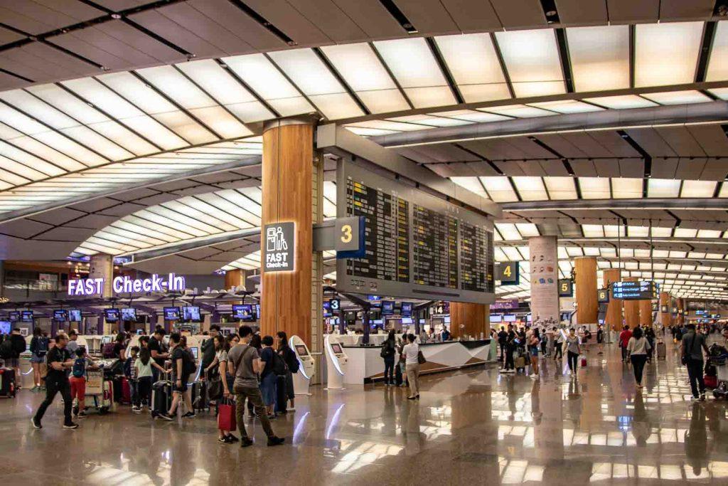 Flughafen Singapur Changi Terminal 2
