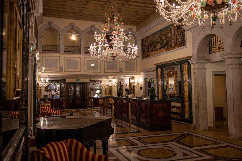Grand Hotel Dei Dogi Lobby und Rezeption The Travel Happiness