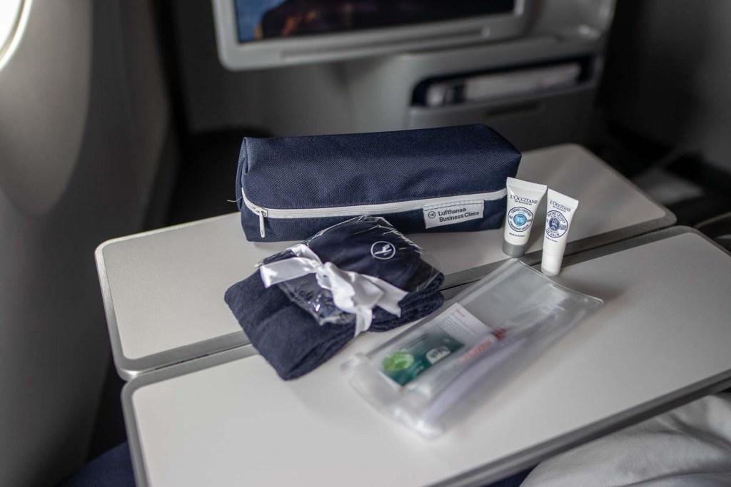 Lufthansa A350 Business Class Amenity Kit_