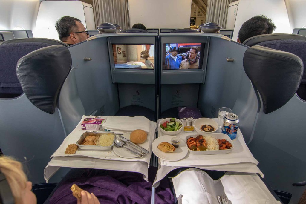 Malaysia Airbus A330-200 Business Class Service-4
