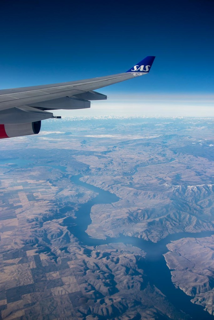 SAS A340 Economy Class-6