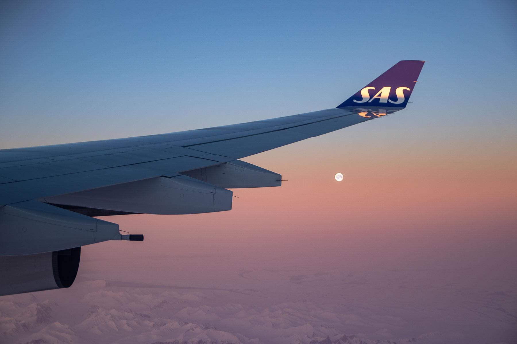 SAS A340 Economy Class-7